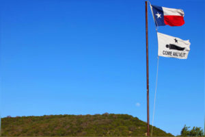 Texas Hill Country Blue Sky