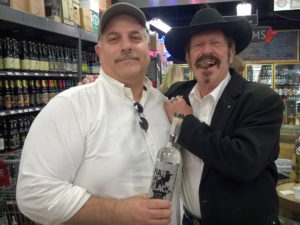 Cary Robinson and Kinky Friedman