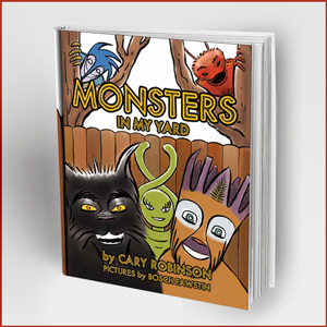 Monsters In My Yard Available Online At Golden Hound Press