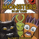 Monsters In My Yard Book Page Image