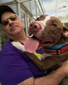 Adoption Success:  RJ (Robinson Jr.) now resides in Wisconsin after being pulled off of death row. He's a gem!